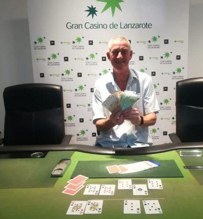 Alan James ganador 6º torneo de liga evento ppal Junio 2019